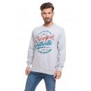VARSITY - NY Authentic Sweatshirt - Grau meliert