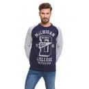 VARSITY - Sweatshirt Go Detroit - Gris marine