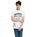 VARSITY - T-shirt Uni Ath - Blanc