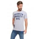VARSITY - Brooklyn Shirt - Gris sport