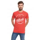 VARSITY - NY Authentic T-Shirt - Rouge