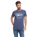 VARSITY - Camiseta Vintage Original - Denim