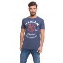 VARSITY - Harlem T-shirt - Denim