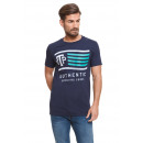 VARSITY - VTP-Flaggen-T-Shirt - Marineblau