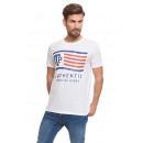 VARSITY - T-shirt à drapeau VTP - Blanc