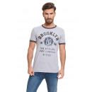 VARSITY - chemise État de Brooklyn - Gris / Gris f