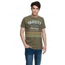 VARSITY - T-shirt VARSITY HERITAGE - Army