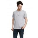 VARSITY - T-shirt VARSITY HERITAGE - Gris chiné