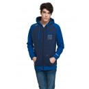 VARSITY - sweatshirt VARSITY HERITAGE - Bleu marin