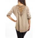 ingrosso Ingrosso Abbigliamento & Accessori: T-Shirt GUIPURE MOLE S7040