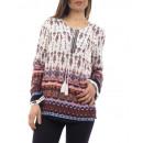Großhandel Shirts & Tops:PRINTED TUNIC 1084I6CH