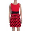 DRESS PEAS 2087 Farbe: Rot
