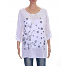wholesale Shirts & Tops:T-Shirt FLOCAGE 8024