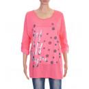 T-Shirt FLOCAGE 8024 Kleur: Corail