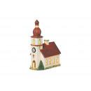 Lanterna Chiesa di porcellana, B14 x H21 cm x T8