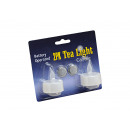 LED teamécseseket 2 készlet, B4 x H5 cm