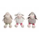 Großhandel Puppen & Plüsch: Schaf sitzend aus Plüsch, 3-fach sortiert, 32 cm
