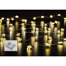 wholesale Light Garlands: Wire chain 40s LED star, inside 200 cm