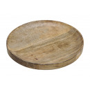 Deco bowl made of mango wood brown (W / H / D) 30x