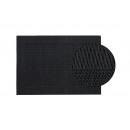 Tovaglietta in plastica nera, B45 x H30 cm