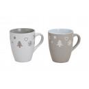 decorazione tazza Stern di ceramica, 2 volte assor