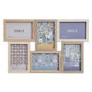 Photo frame per 6x (10x15) Foto di legno, vetro Br