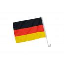 Bandiera Auto Germania da poliestere, B45 x H30 cm