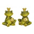 Frog Prince arany kerámia gömb, 2-