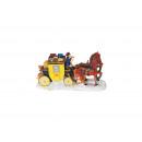Stagecoach poli, B10 x T4 x H6 cm