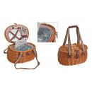 wholesale Outdoor & Camping: Picnic basket for 2 persons from pasture, 15-piece