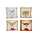 wholesale Dolls &Plush: Plush cushion animal decor, assorted, B33 x ...