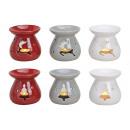 Duftlampe albero / Elk ceramica, 6 volte assortito
