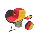 Cappello Germania, pieghevole, realizzato in polie