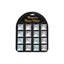 wholesale Magnets: Magnet star on blackboard, 4-way assorted,
