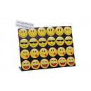 Magnete Smiley plastica sul pannello 4-sor