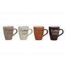 tazza del caffè della decorazione della ceramica,