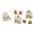 wholesale Giftware: assorted pig in bag of poly, assorted , 3-4 cm