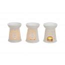 lampada di fragranza porcellana bianca, B13 x H10