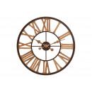 nagyker Órák és ébresztőórák: Óra fém / fa Brown, B5 x T60 cm