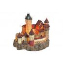 Castle luce con illuminazione di poli, B24 x D25 x