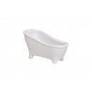 BATHTUB WHITE CERAMIC 12X6X6CM