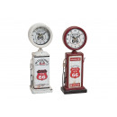 wholesale Clocks & Alarm Clocks: times assorted clock dispenser Route 66, 2- times