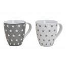 Jumbo gwiazda Cup porcelanowe, 2 razy mieszany ,