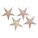 Light Star papieru w kolorze białym z pięciu kolcó