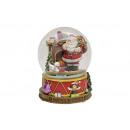 Music Box della sfera / neve Nicholas con il turbi