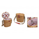 wholesale Sports & Leisure: Picnic basket for 2 persons for hanging from pastu