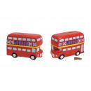 hurtownia Upominki & Artykuly papiernicze: skarbonki Bus London ceramiczne, B19 x H12 cm x T8