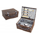 Picnic basket for 4 persons with grill
