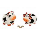 ceramica mucca Spardose, assortito, B12 x x T10 H1