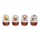 wholesale Snow Globes: Schneekugel Christmas motif made of glass / ...